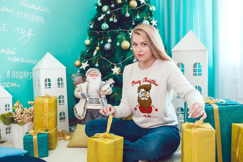 Christmas Sweatshirt Mock-Up Vol.2 example image 13