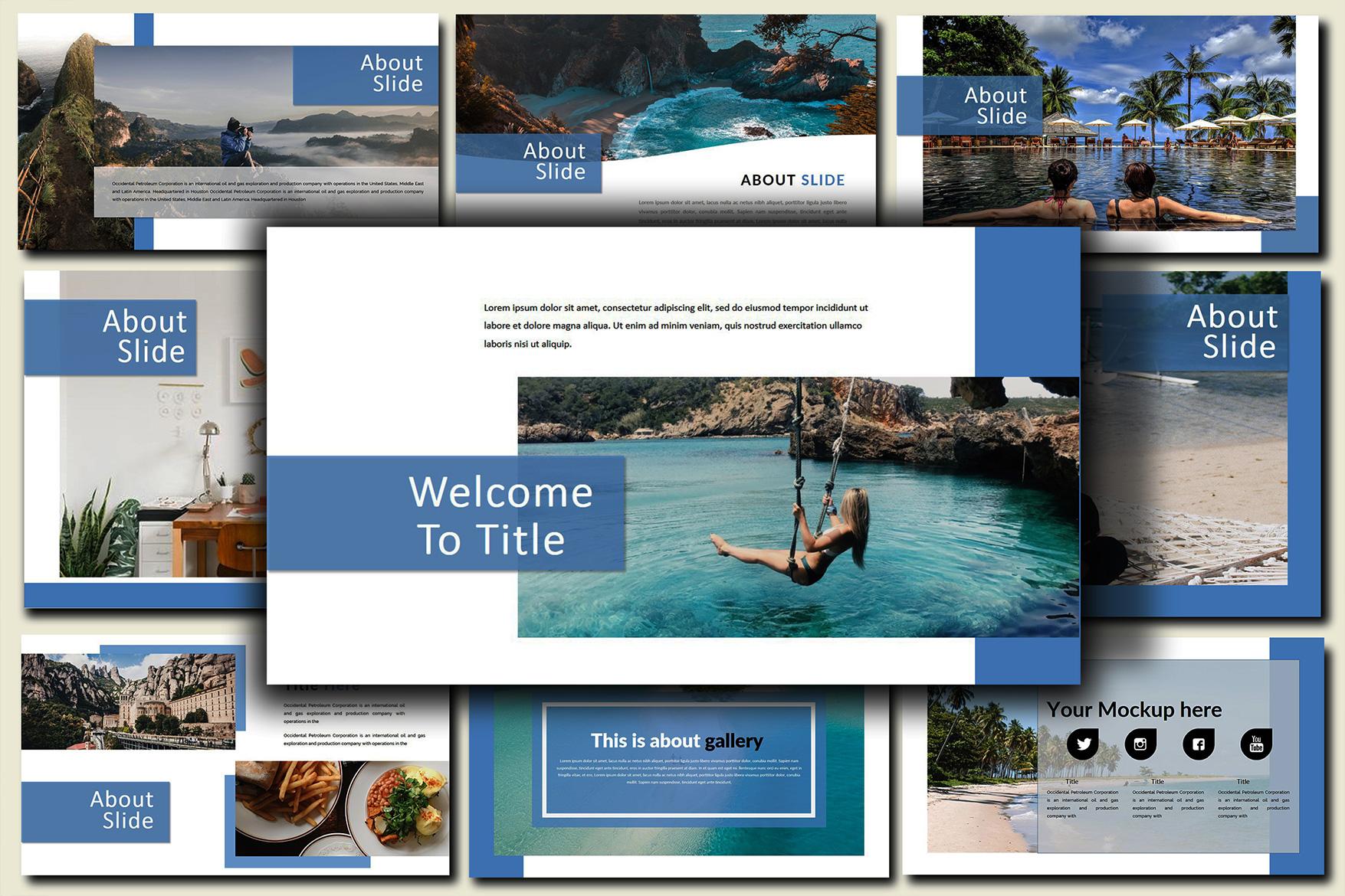 Holiday - Google Slides Presentation example image 8