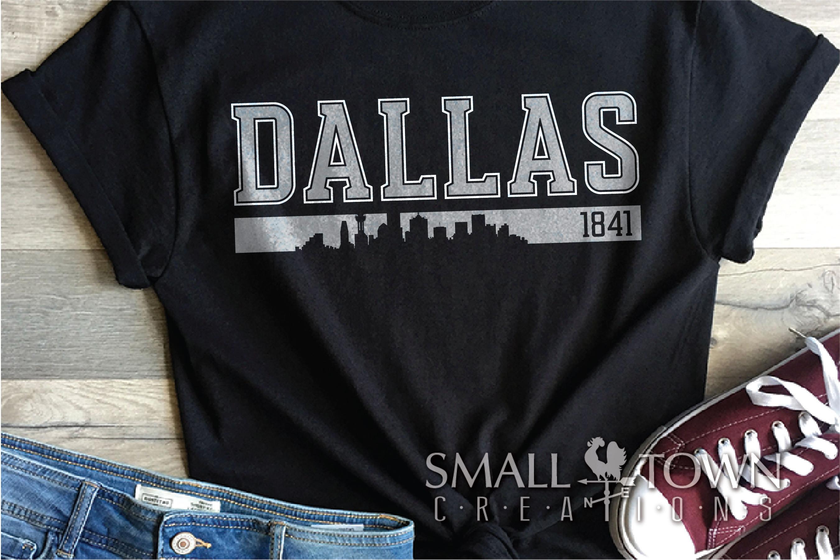 Dallas, Big Things Happen Here - slogan, PRINT, CUT & DESIGN example image 8