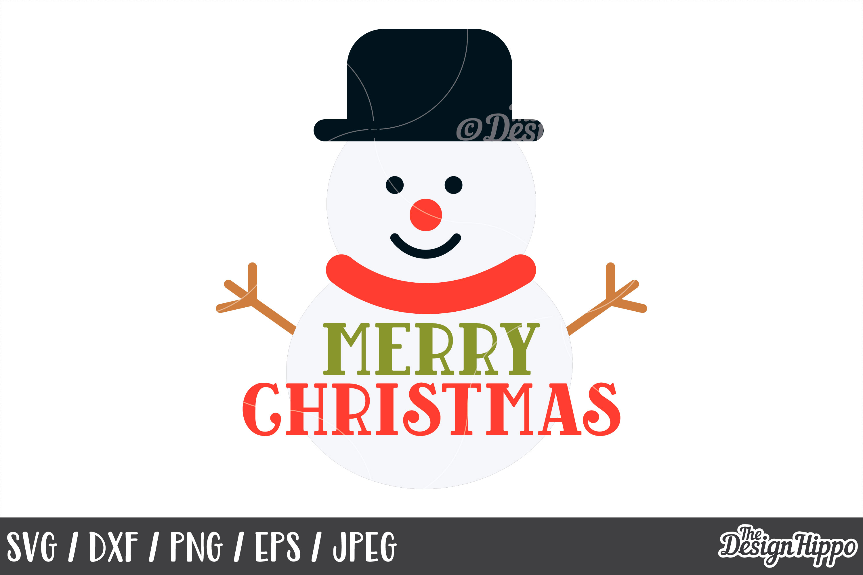Merry Christmas SVG Bundle, Christmas SVG, PNG, DXF Cut File example image 11