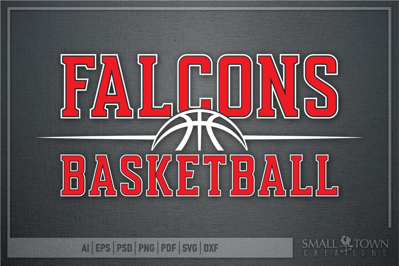 Falcon, Basketball, Sports, Design, PRINT, CUT, DESIGN example image 5