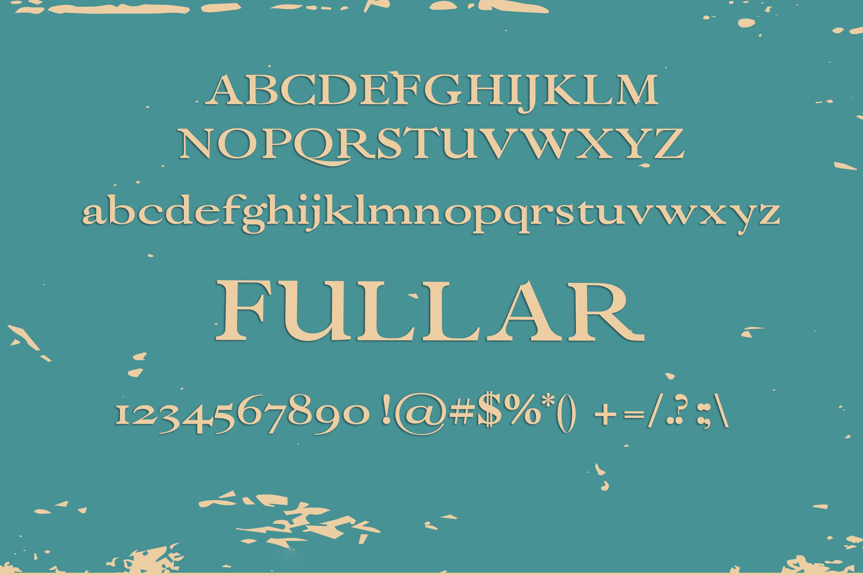 Fullar Font example image 2