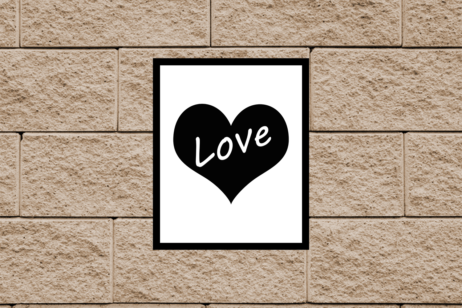 Heart Print, Love Quote Print,Love Print,Heart Poster, OFF50 example image 4