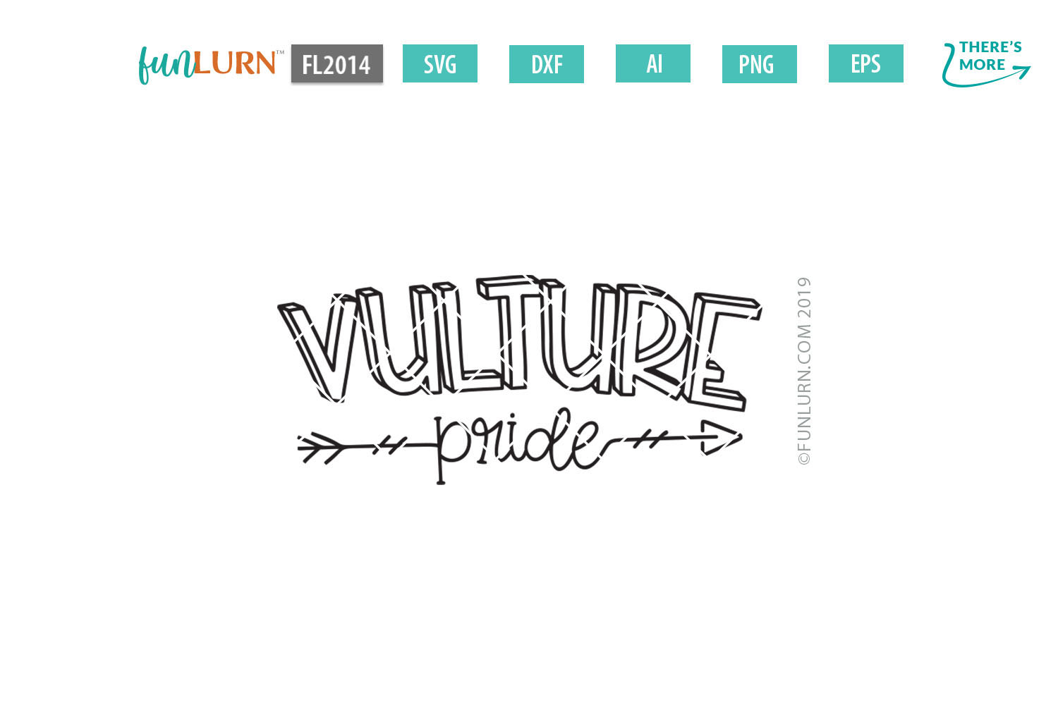 Vulture Pride Team SVG Cut File example image 2