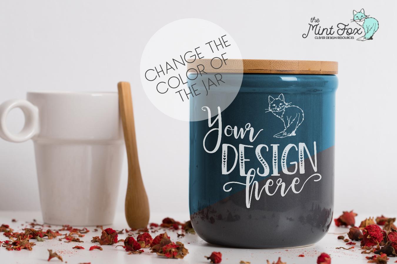 Spice Jar Mockup | PSD & JPG Kitchen Mock Up example image 2