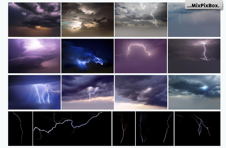 Lightning Photo Overlays example image 5