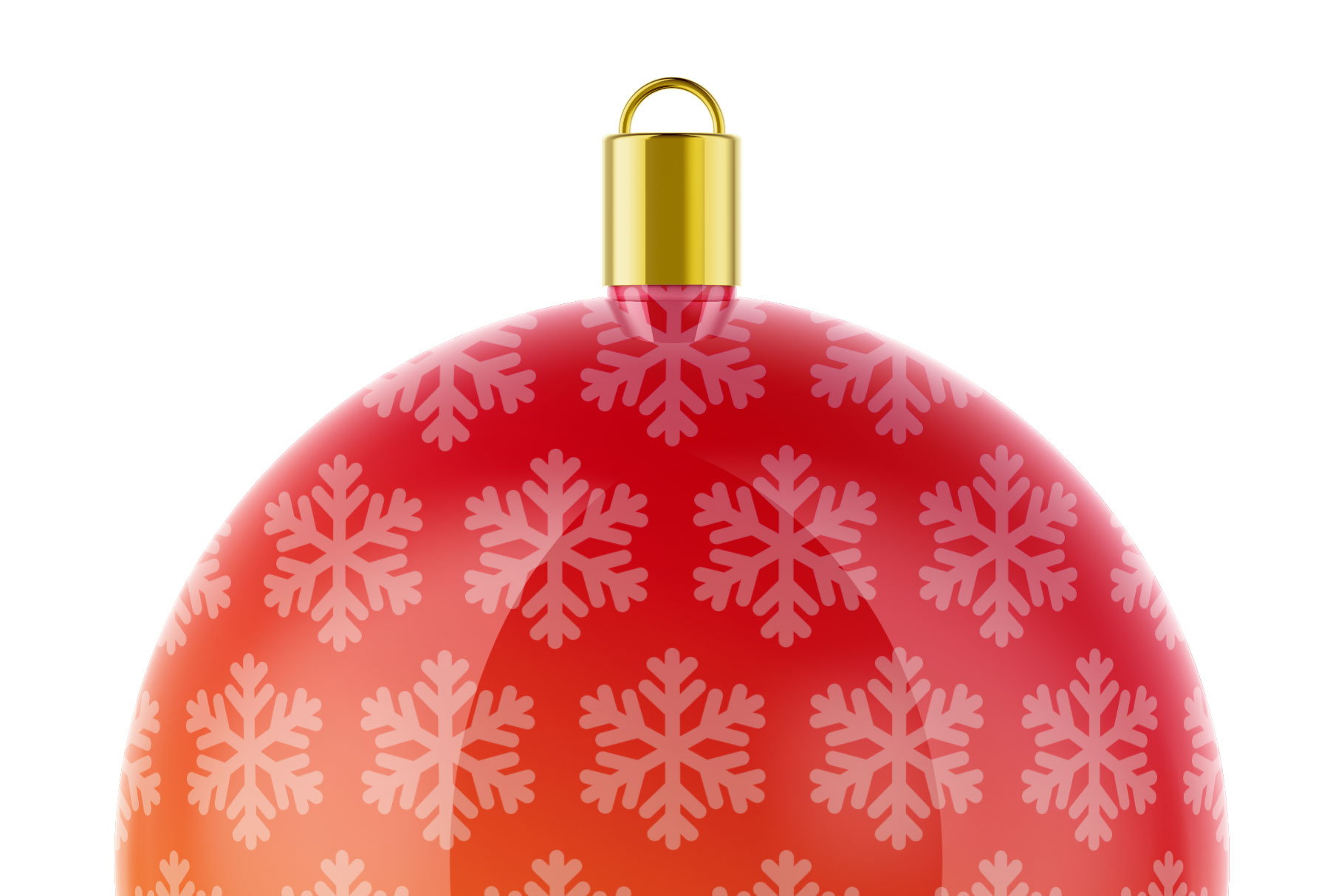 Glossy Christmas Ball Mockup example image 5
