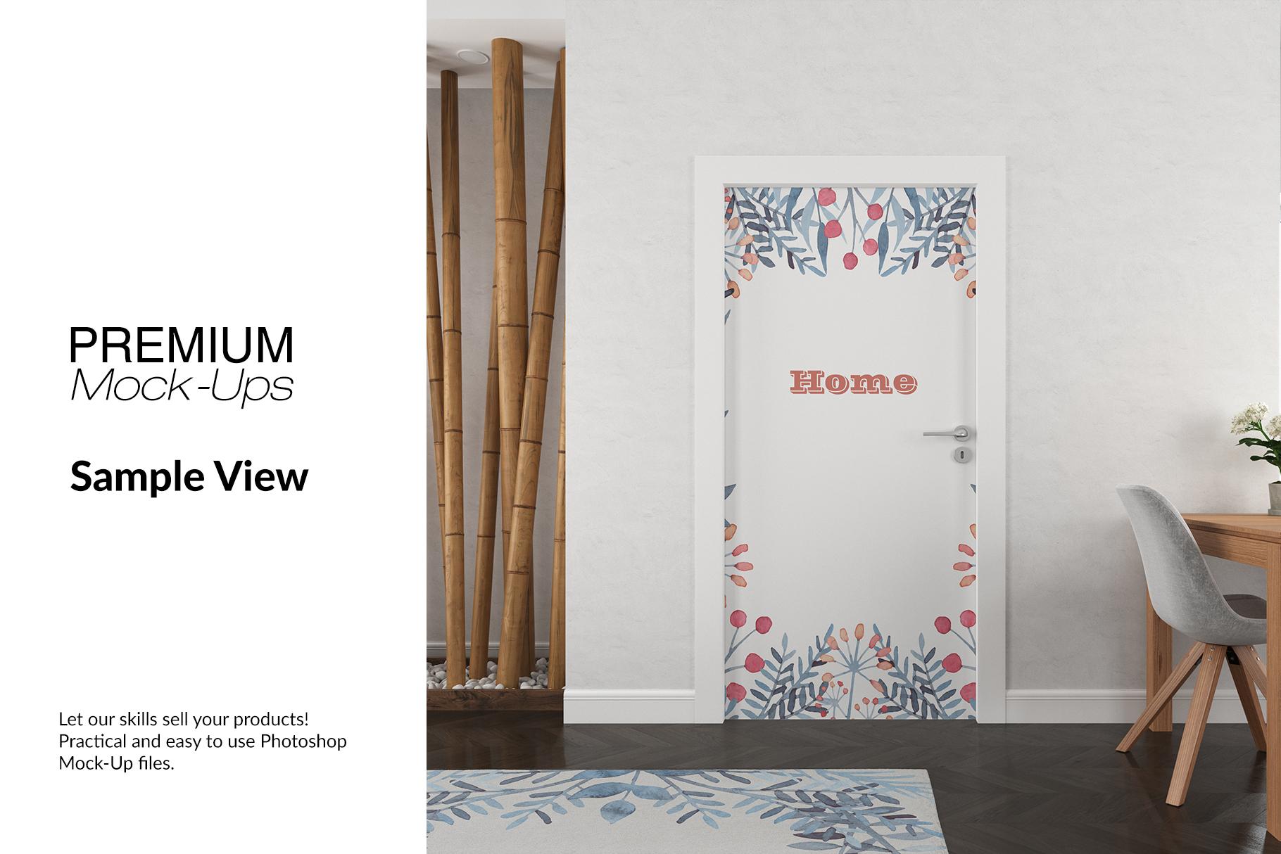 Door Murals Set example image 7