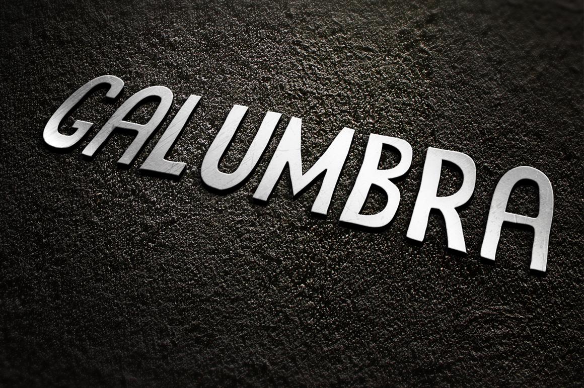 Galumbra Font Set example image 3