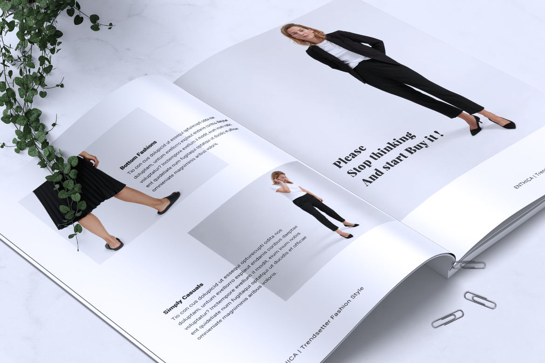 ENTHICA Fashion Magazines example image 3
