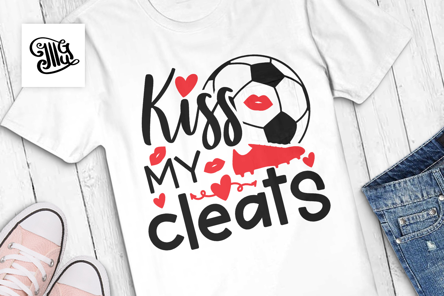 Kiss my cleats example image 1