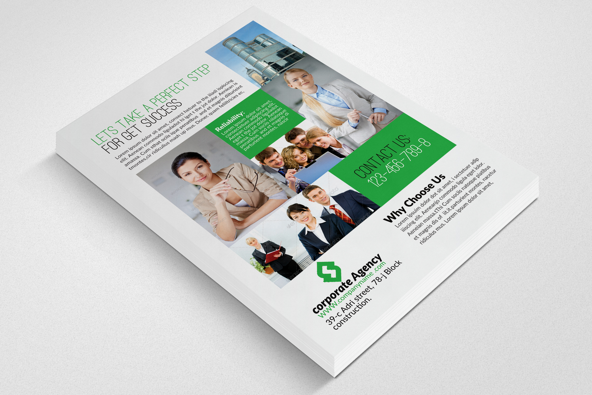 Business Executive Coach Flyer example image 3
