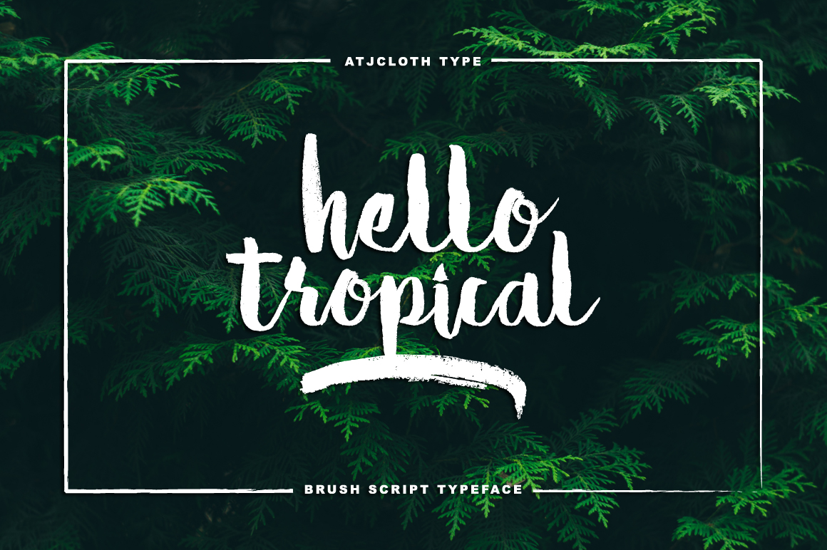 Hello Tropical example image 1