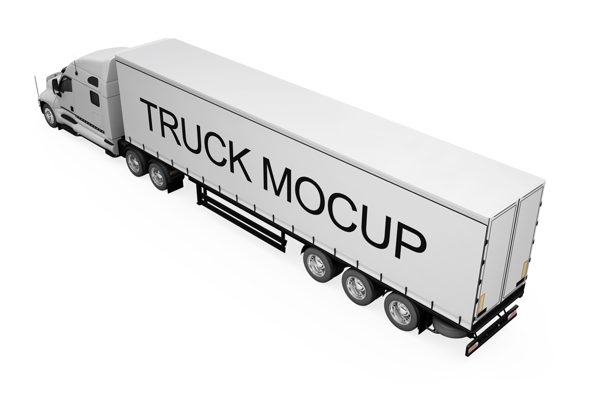 Truck Mockup example image 18