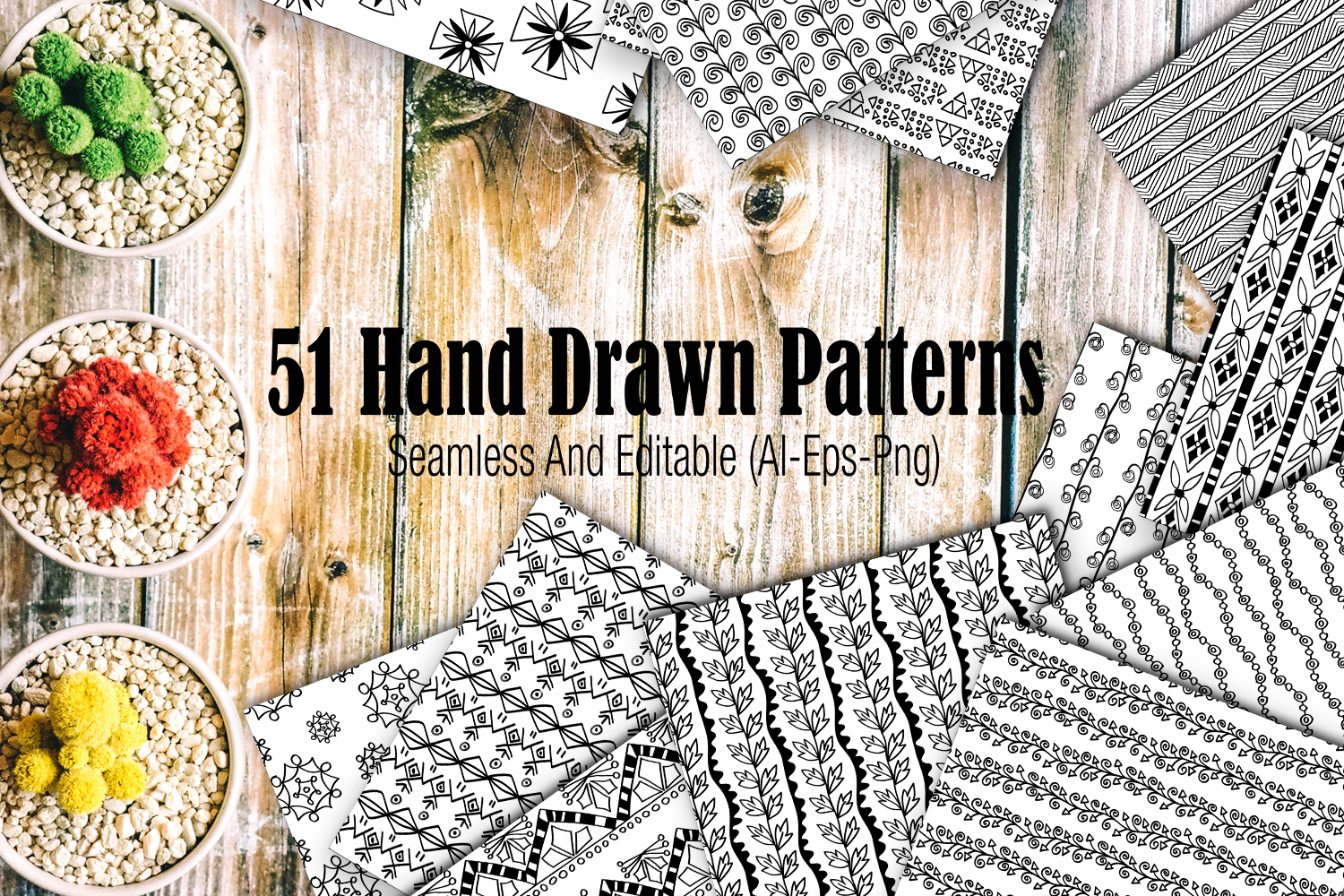 51 hand drawn patterns example image 1