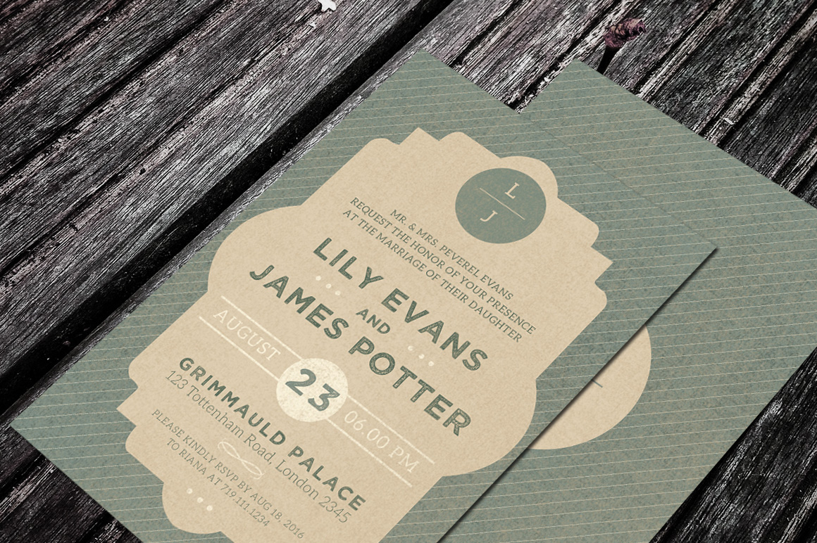 Wedding Invitation example image 3