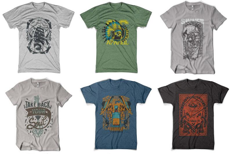 100 Premium T-shirt Designs example image 15