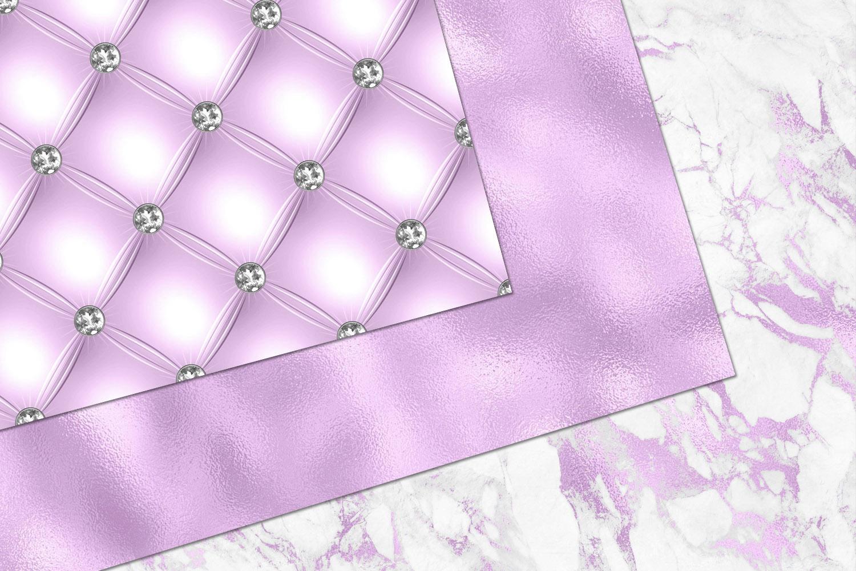 Glitzy Purple Digital Paper example image 2