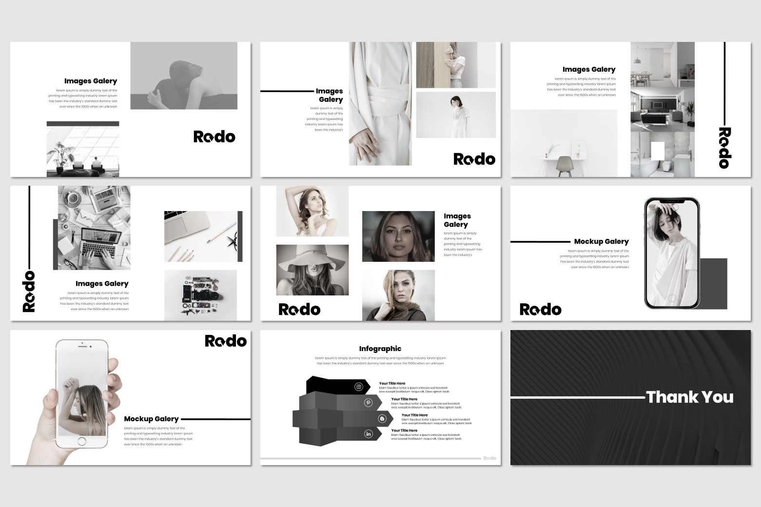 Redo - Keynote Template example image 5