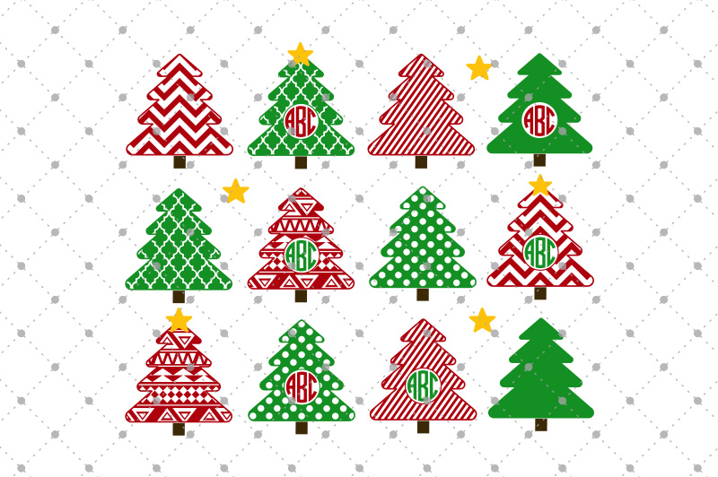Christmas Tree SVG Cut files by SVGCutS | Design Bundles