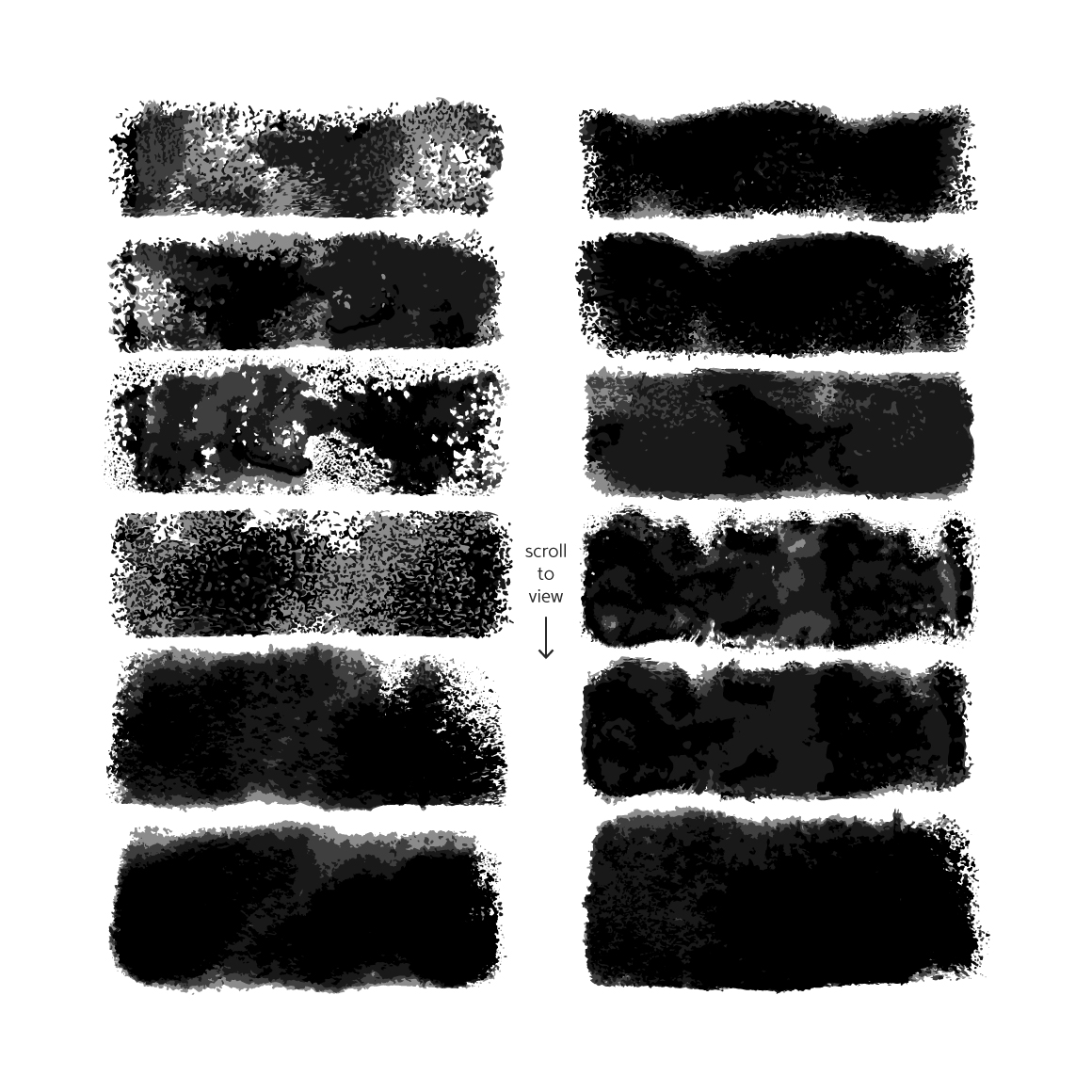 Roller Brushes for Illustrator example image 7