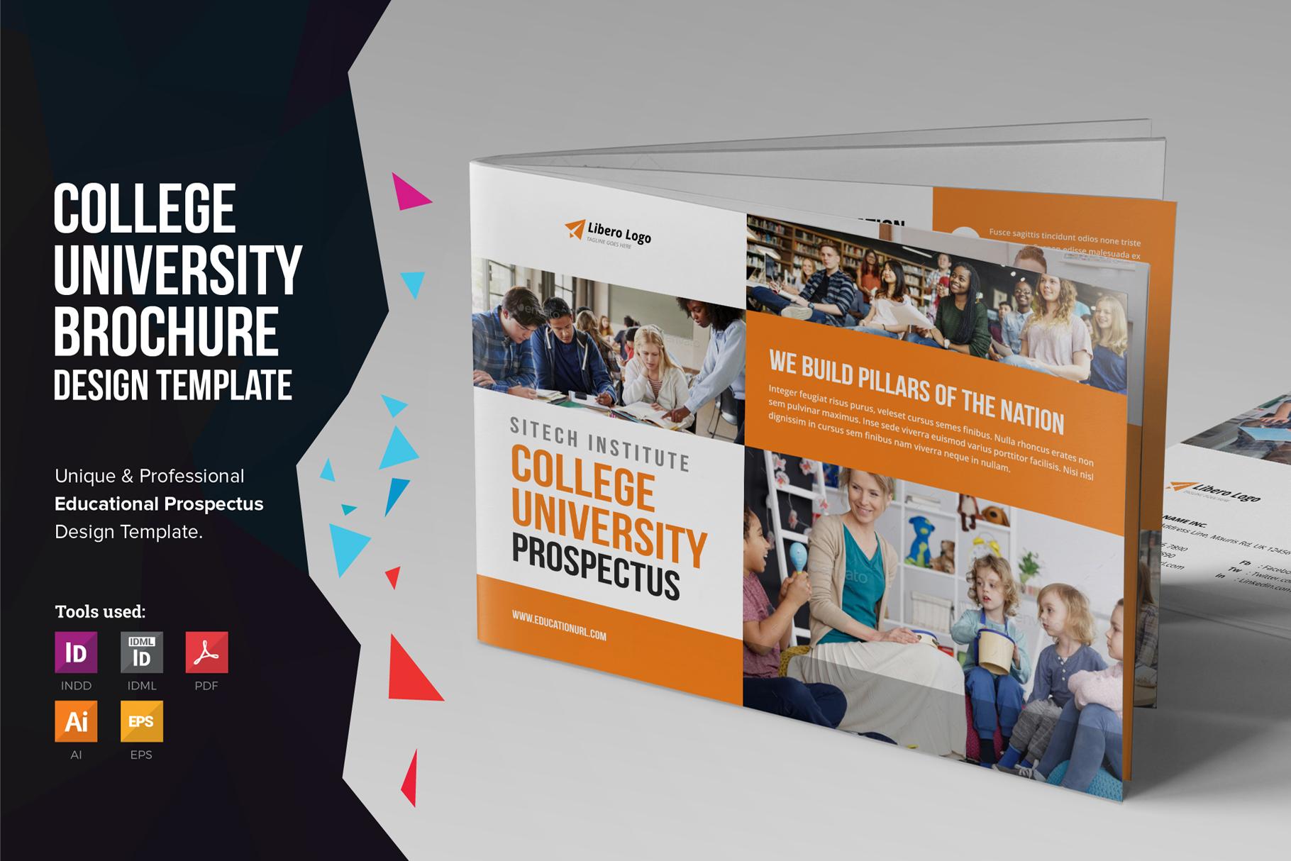 Education Prospectus Brochure v8 example image 1