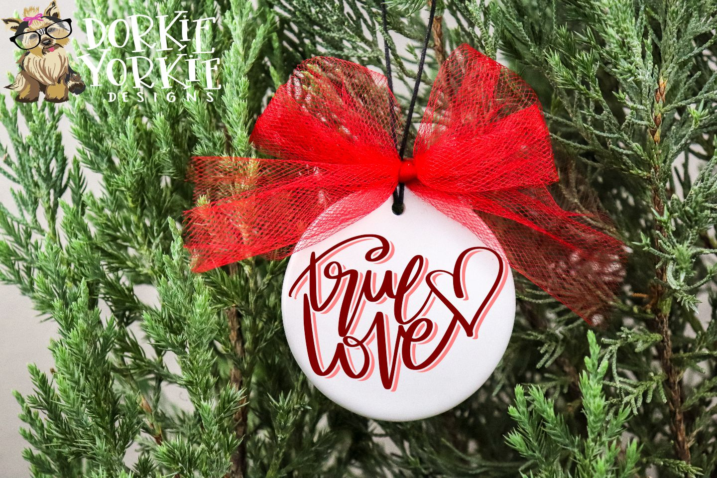 True Love - Hand lettered - Heart - SVG Cut example image 4