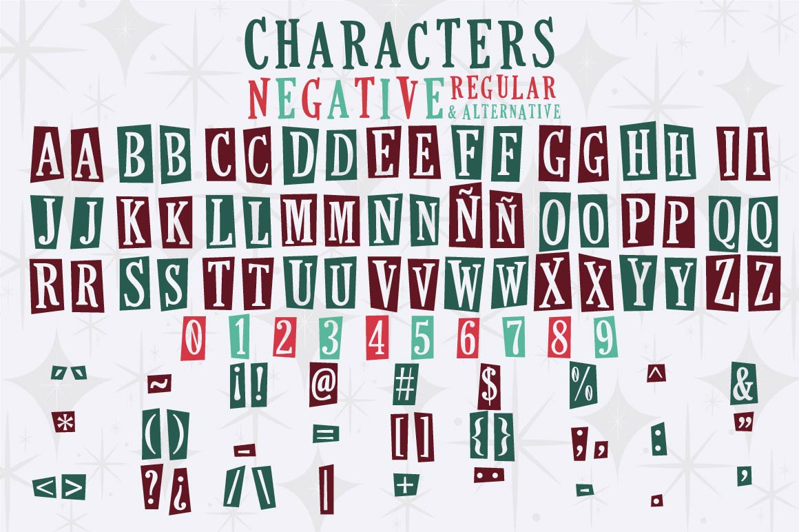 This Holiday Season - Christmas font and Extras example image 4