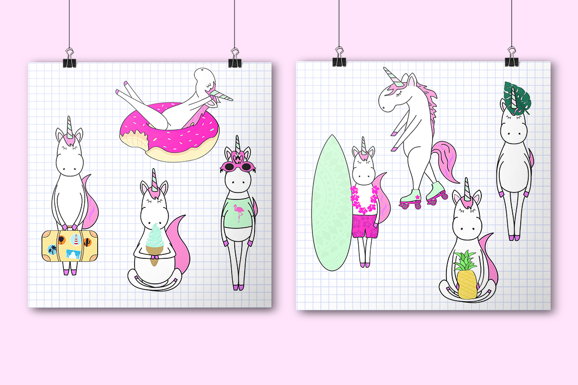 Unicorn's summer example image 2