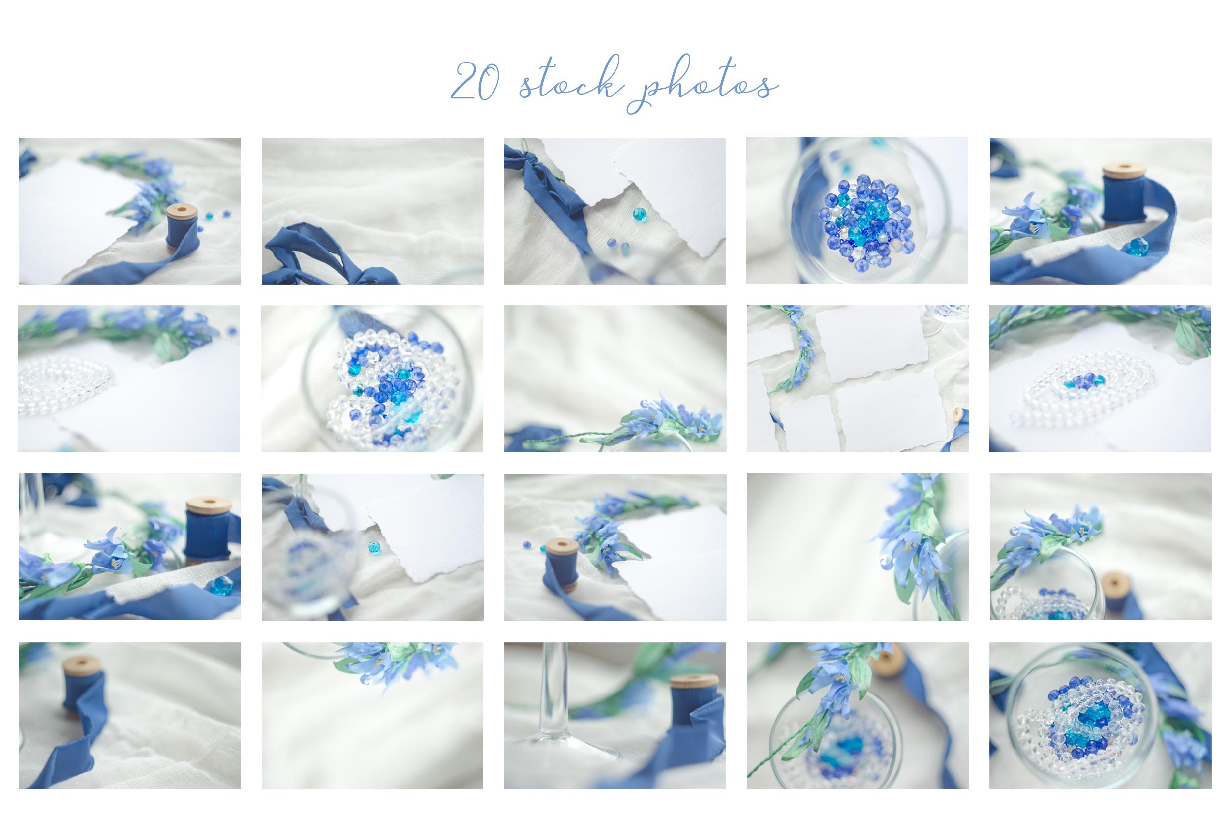 Something blue. Wedding mockups & stock photo bundle example image 7