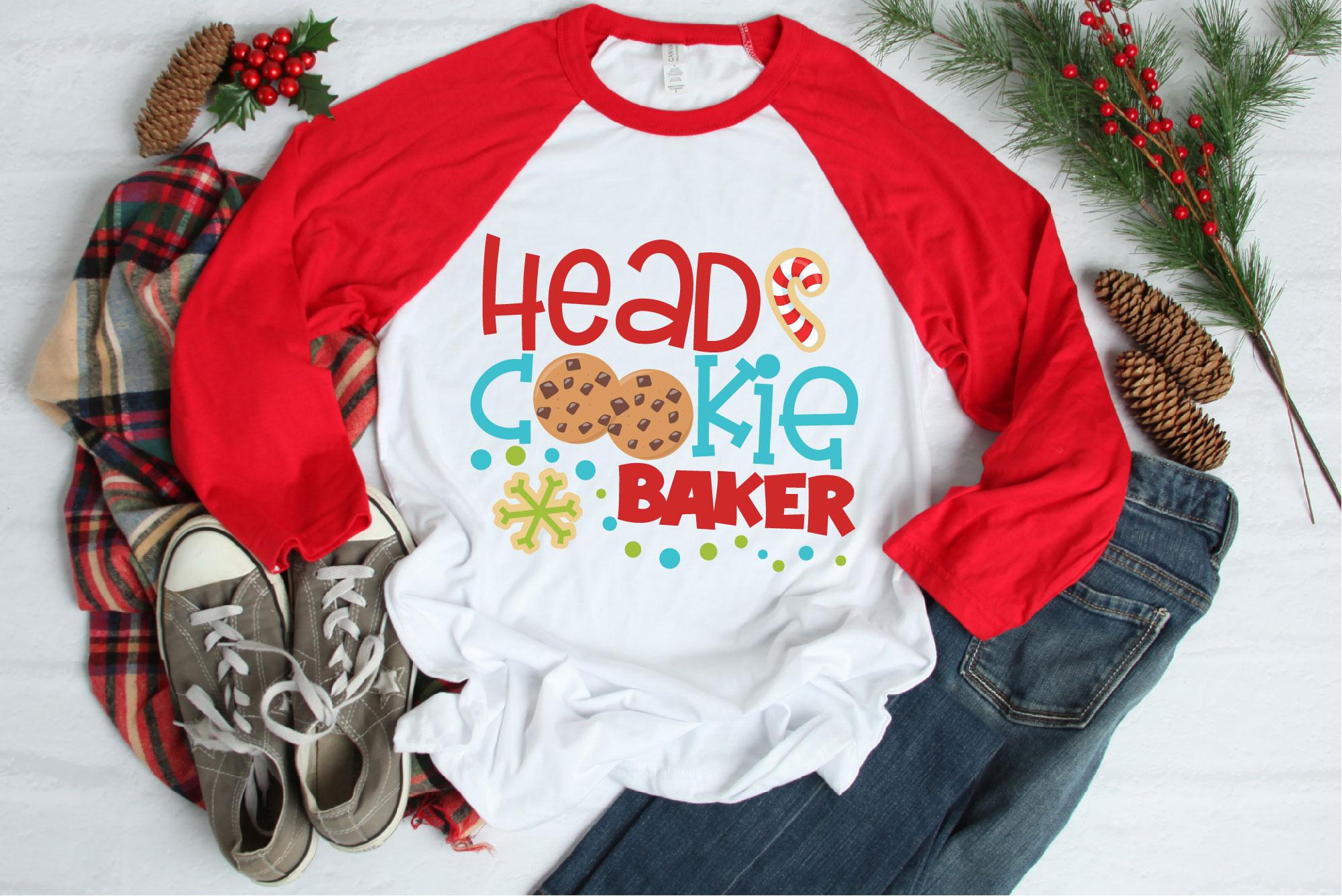 Christmas Cookie Baking Bundle SVG, Christmas Sublimation example image 4