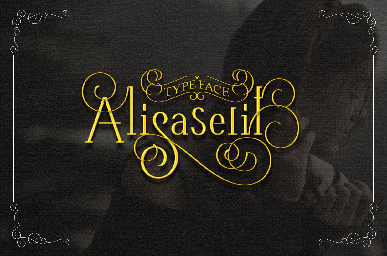 AlisaSerif Typeface example image 1
