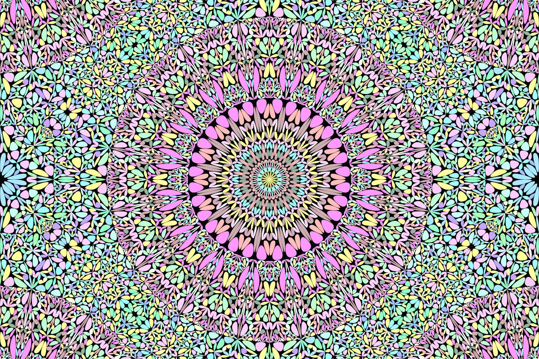 48 Seamless Floral Mandala Patterns example image 24