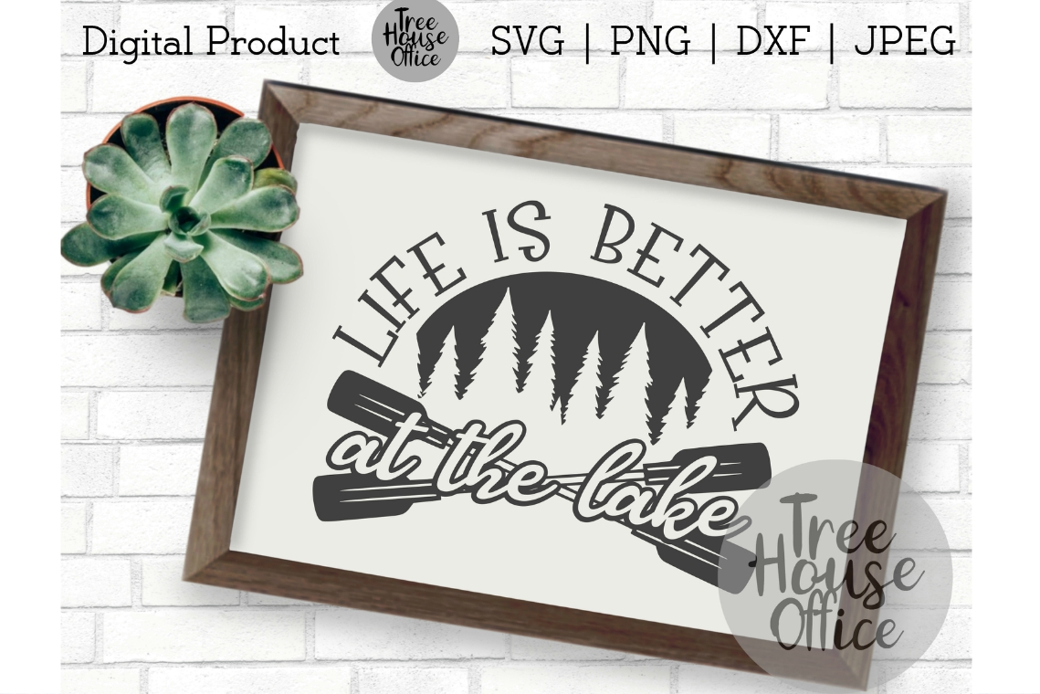 Life is Better at the Lake Life Beach Bum Summer Vacation example image 1