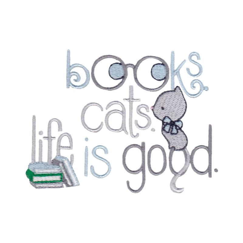 Library Sentiments - 12 Machine Embroidery Designs example image 3