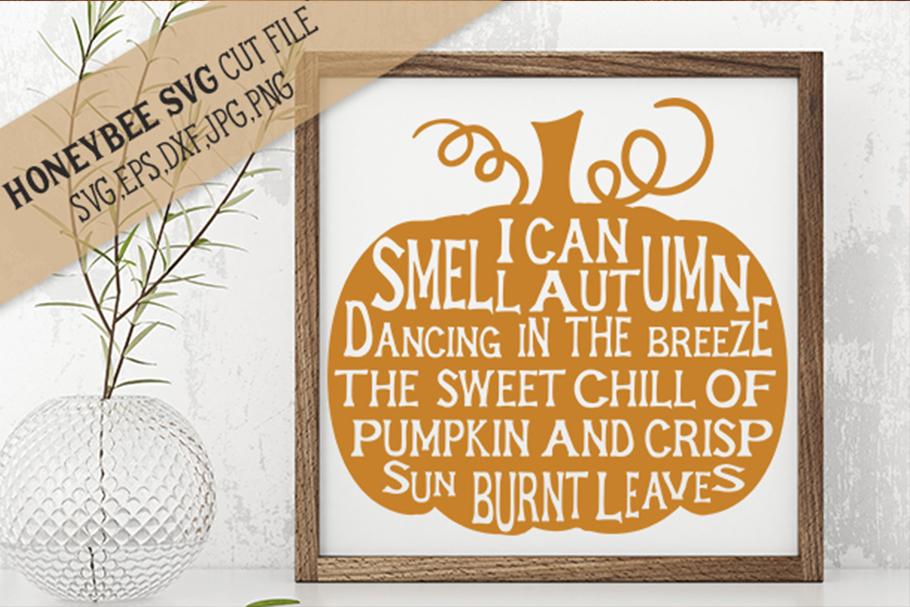 Pumpkin Poem svg example image 1