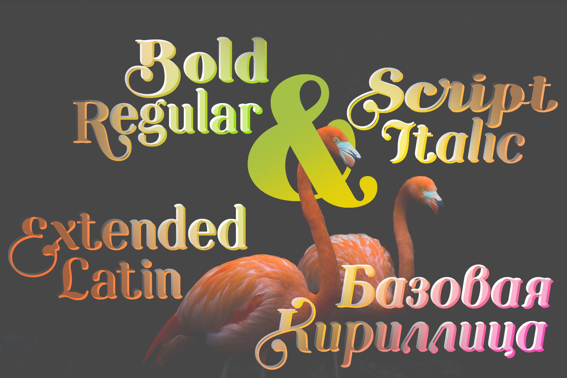 Etewut Serif example image 3