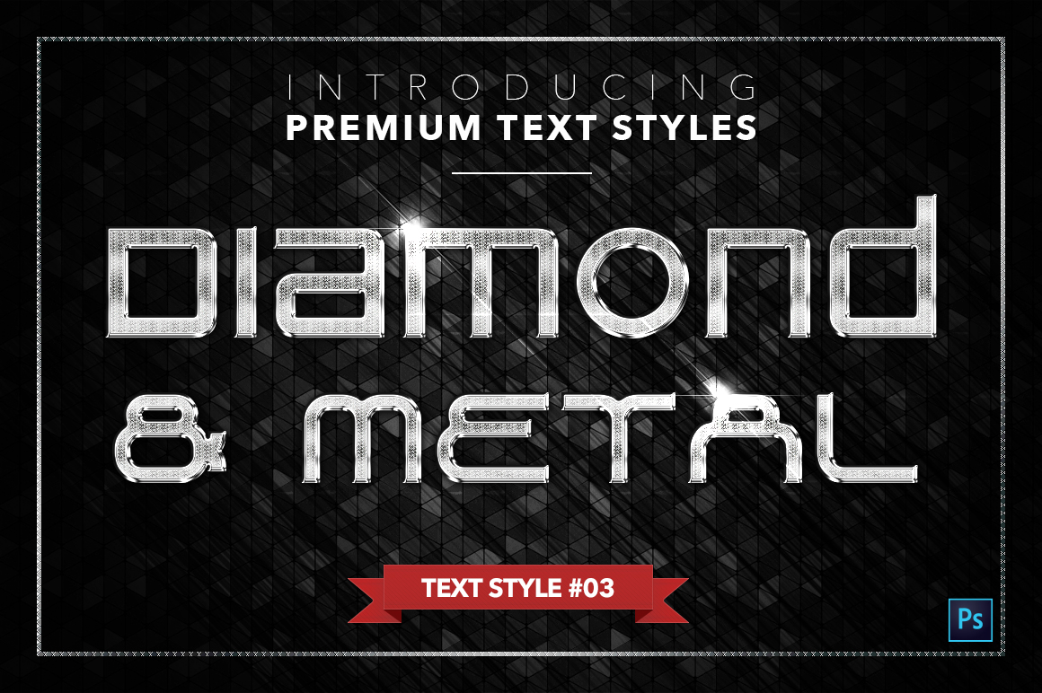 Diamond & Metal #3 - 18 Text Styles example image 4