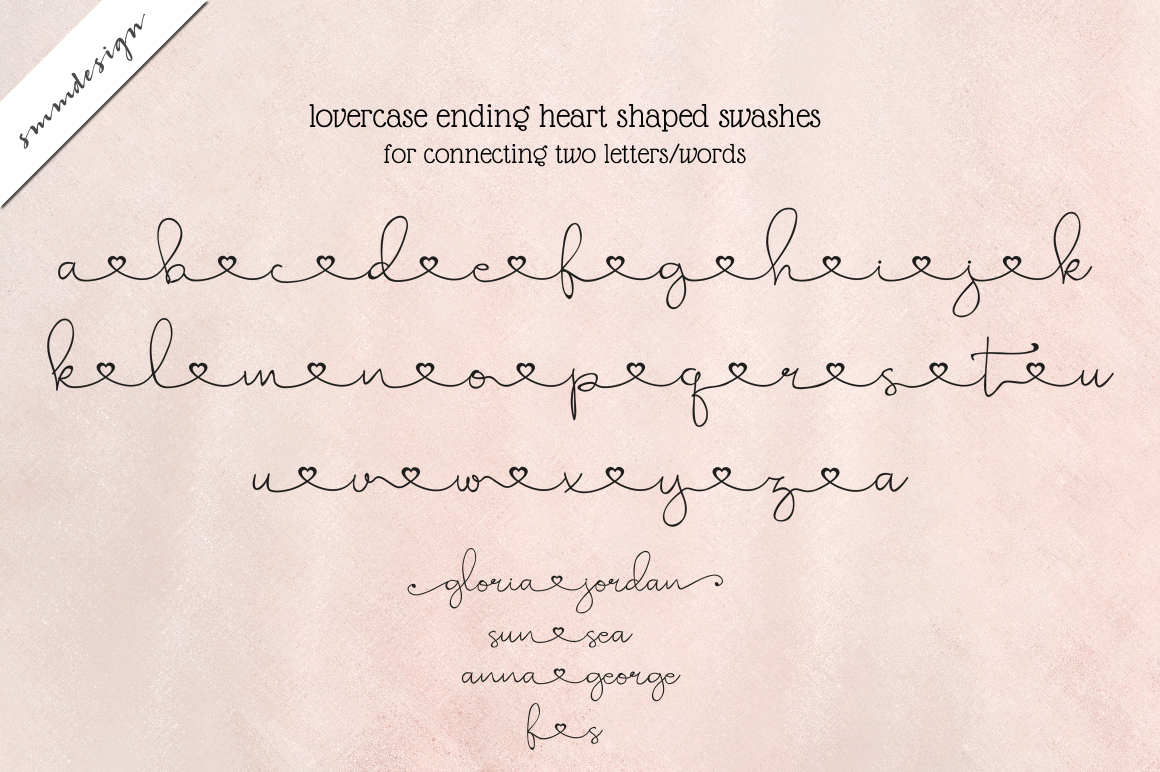 Pretty Sue sweet girly script font example image 4