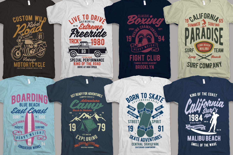 25 Premium Tshirt Designs Big Bundle 6 example image 4