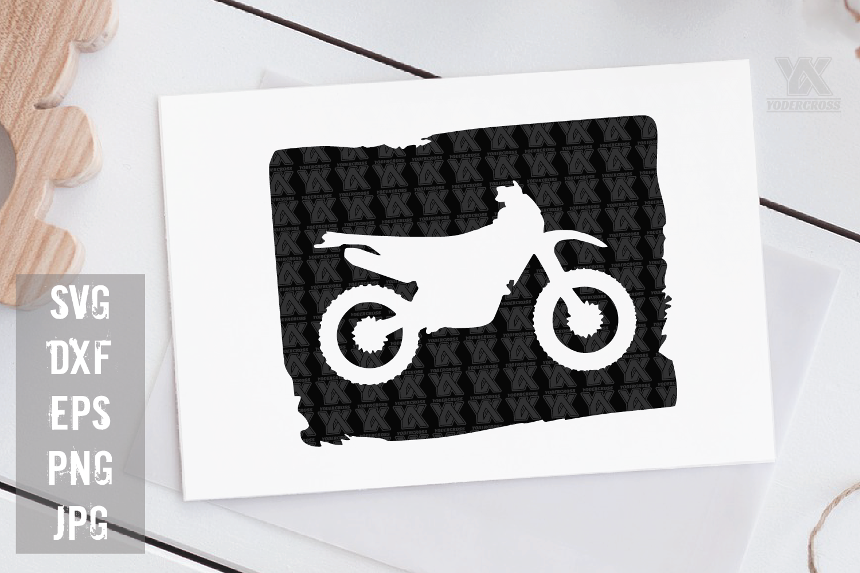 Dirtbike SVG example image 1