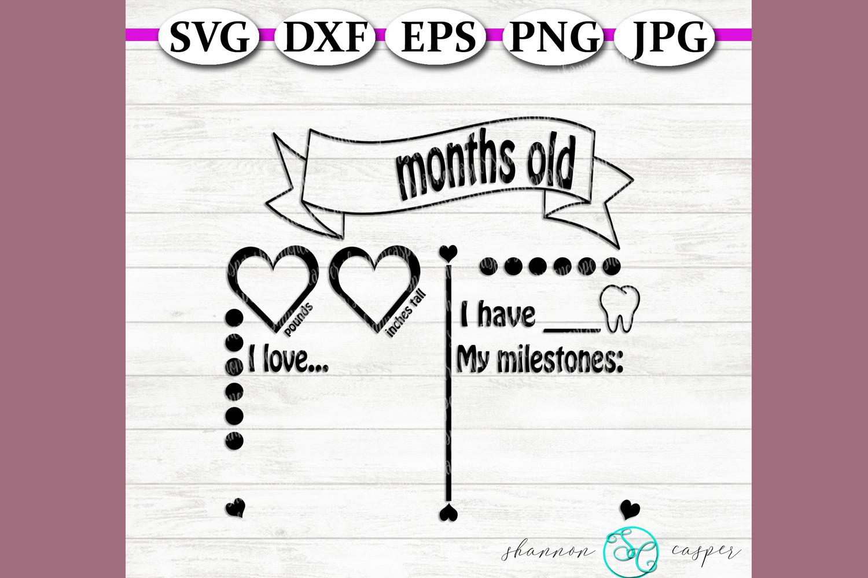 Girl's Milestone Chart example image 2