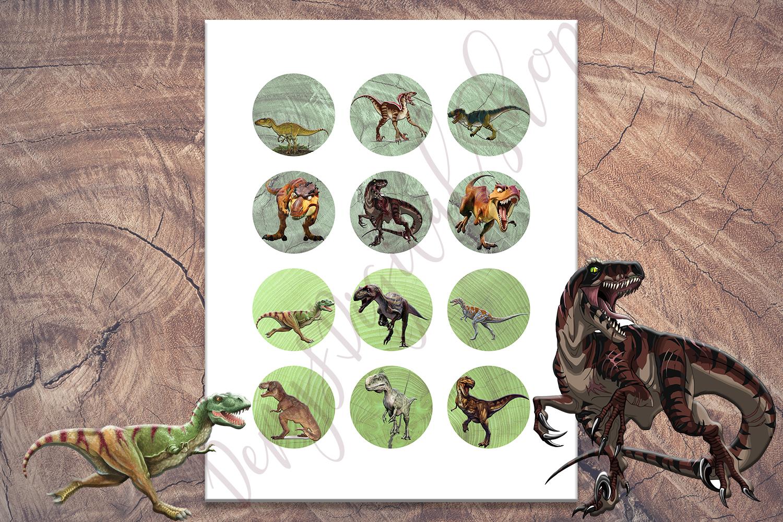 Dinosaurs, Bottlecaps, Pendants, Halloween sale, SALE OFF50 example image 3