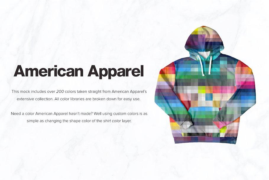 8 Premium Pullover Hoodie Mockups example image 5