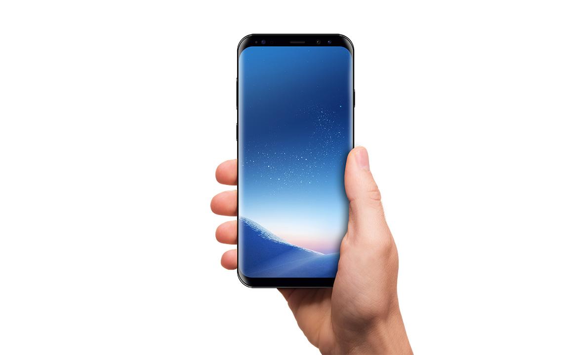 Samsung galaxy S8 mockup example image 1