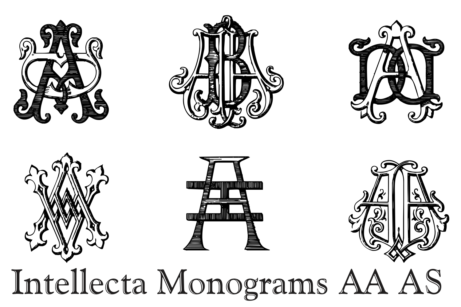 IntellectaMonograms AAAS example image 7