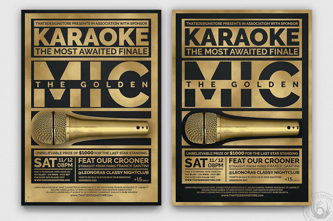 10 Karaoke Flyer Bundle example image 8