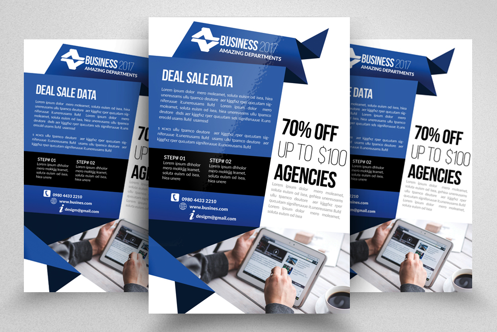 10 Business Flyer Bundle example image 5