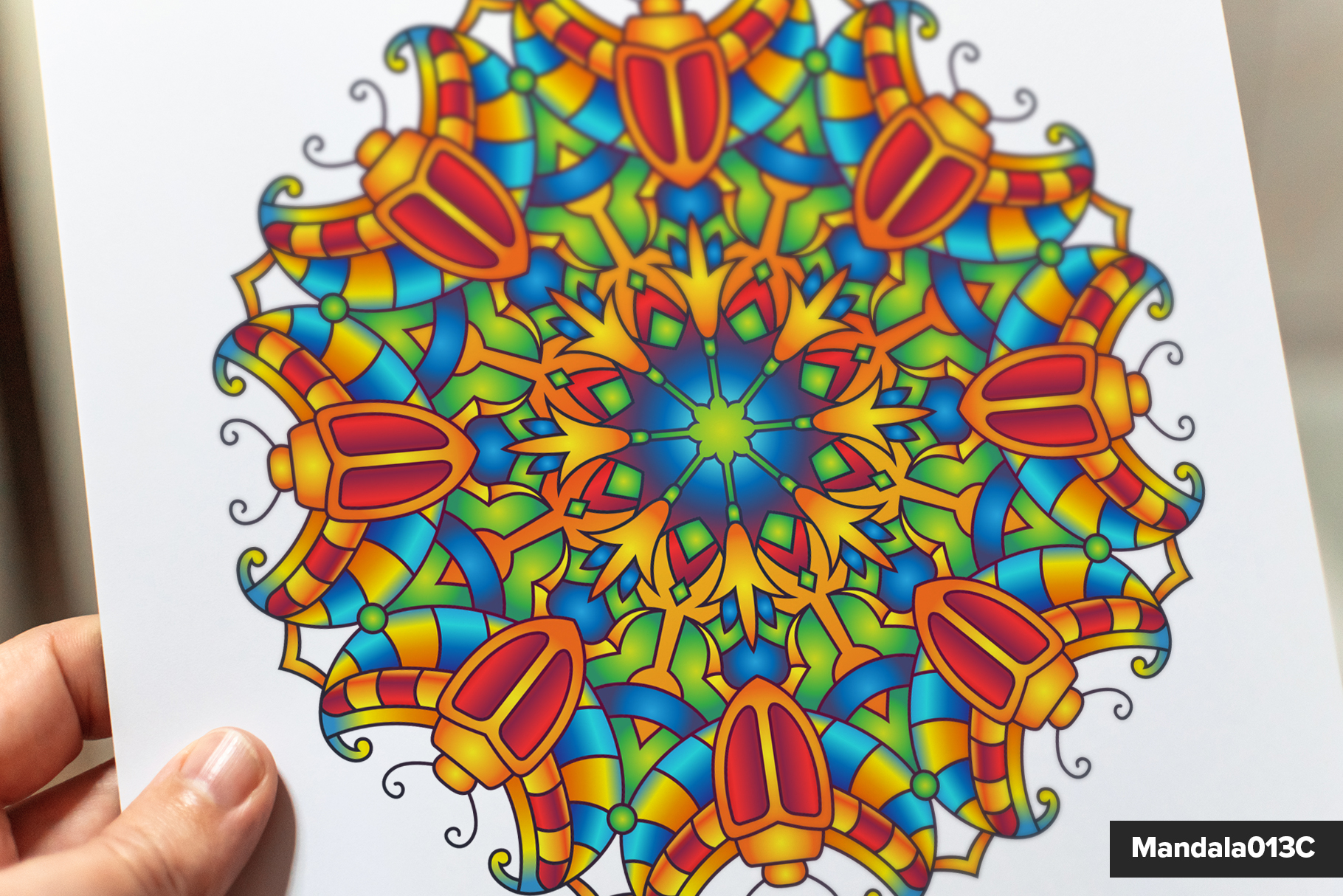 Mandala Vector Ornaments Bundle example image 18