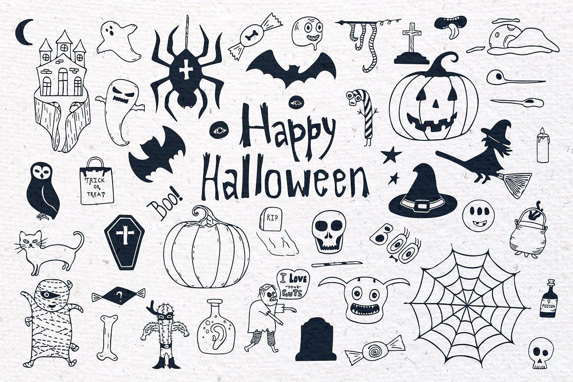 Halloween Special Vector Set example image 3